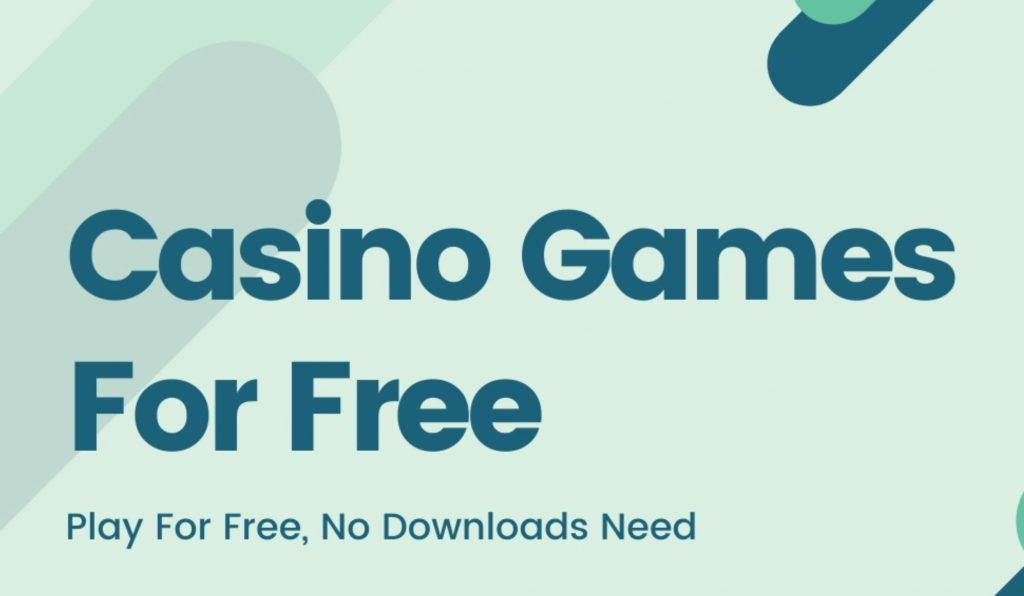 Free Games - Great Way to Practice Slots, Blackjack, Baccarat, and Other Card Games